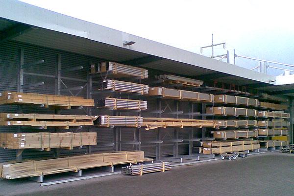 Aussenlager Holzplatten