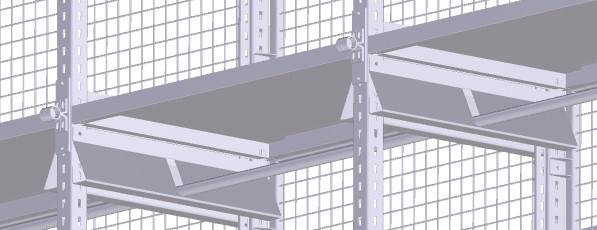 konstruktive Lösung Vogelsang Kleiderstangenhalterungen und Kleiderstangen